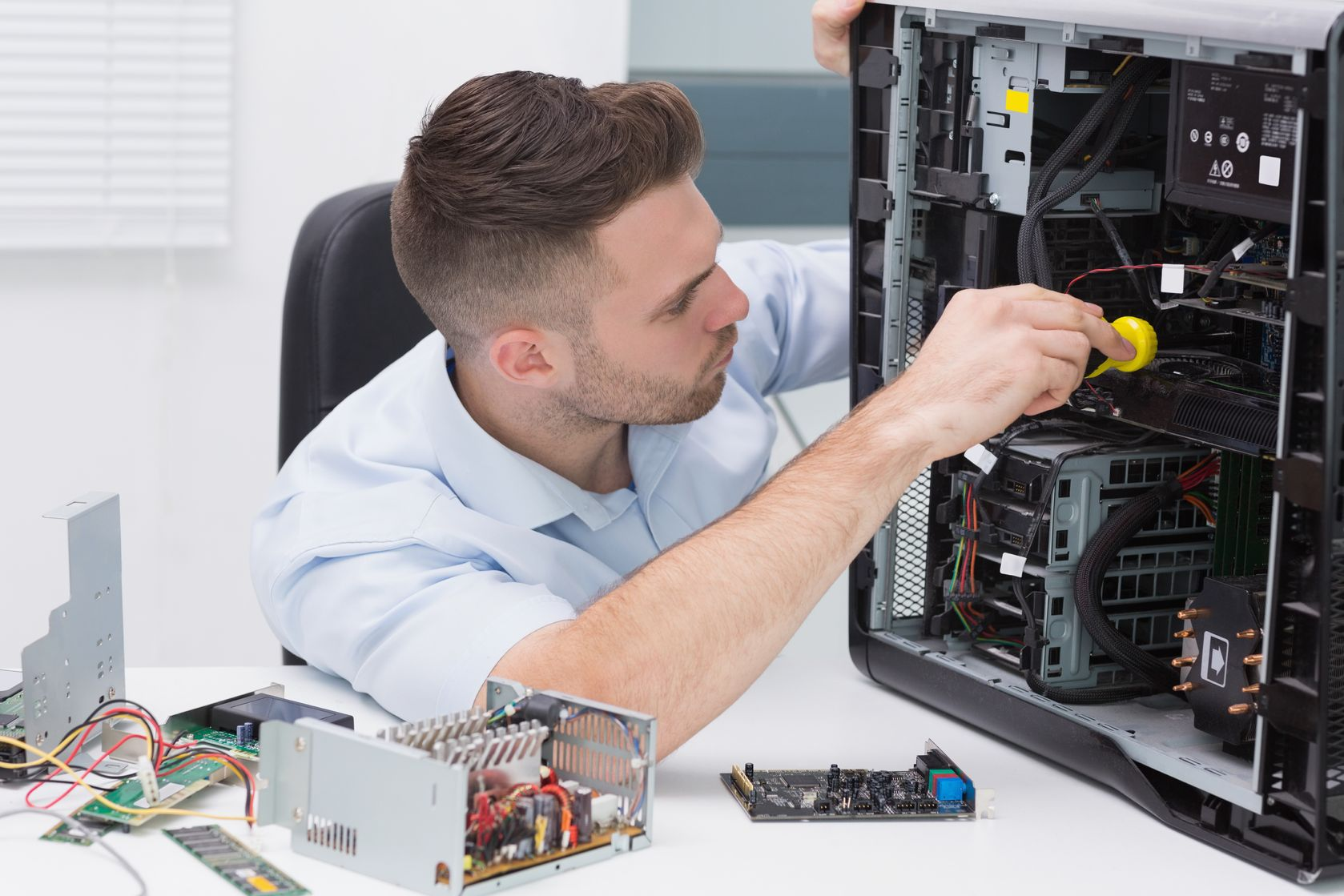 ремонт компьютеров недорого в Москве и МО