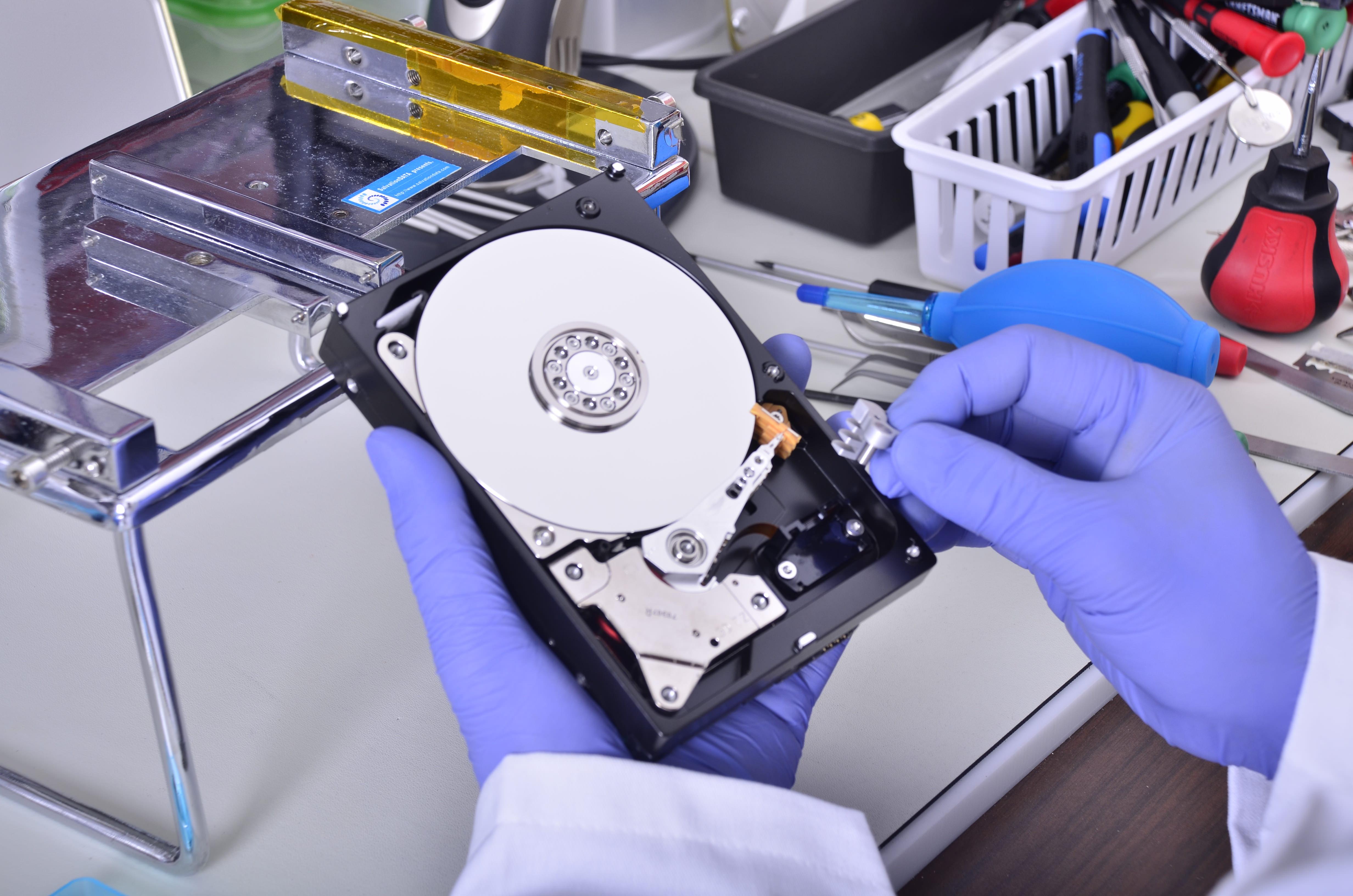 Как извлечь фото с поврежденного диска